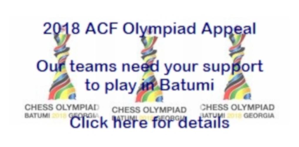 2018 Olympiad Appeal